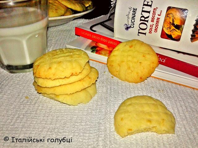 ніжне пісочне печиво рецепт