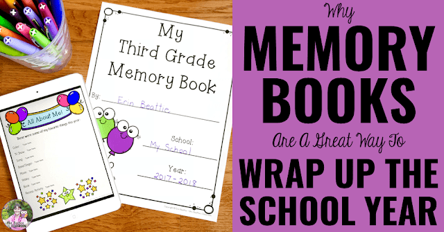 "Image of print and digital memory books and text that says, ""Why Memory Books Are a Great Way to Wrap The Year."""