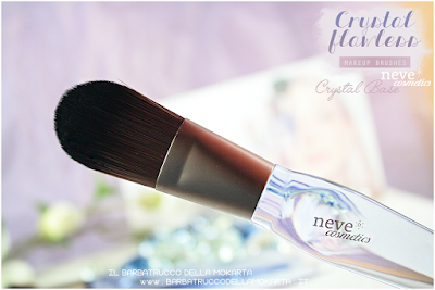 Crystal Base review NeveCosmetics Crystal Flawless Brushes