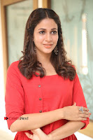 Actress Lavanya Tripathi Latest Pos in Red Dress at Radha Movie Success Meet .COM 0120.JPG