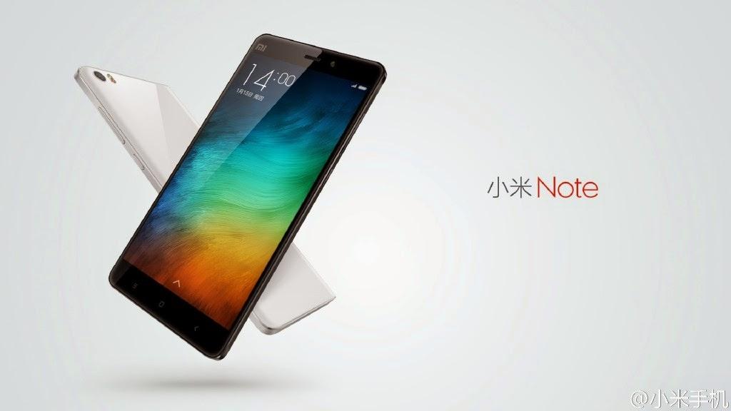 小米4款新品亮相!Note賣2299人民幣,5.7吋螢幕單挑iPhone 6 Plus