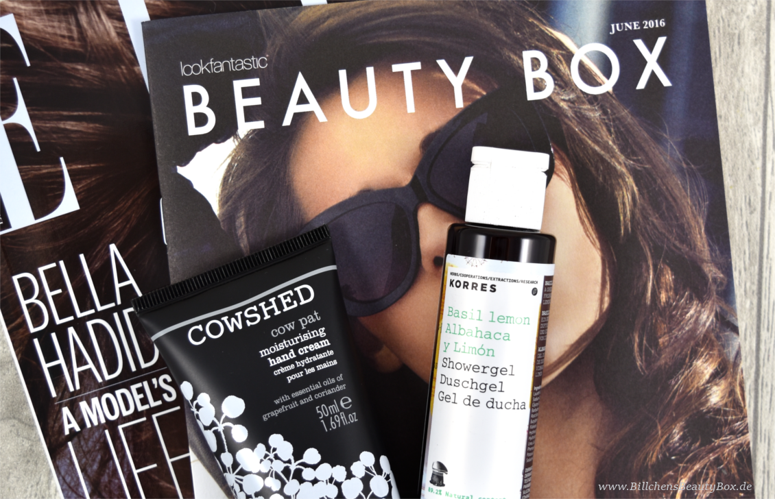 Lookfantastic Beauty Box Juni 2016