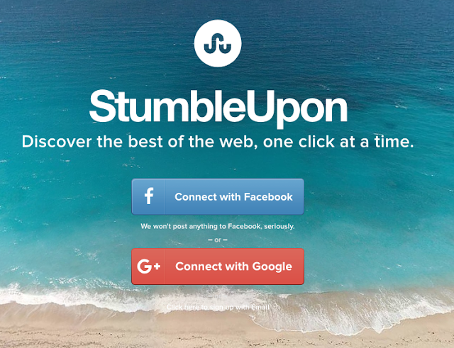 Stumbleupon Registration & Sign Up Process - Stumbleupon Login via www.stumbleupon.com