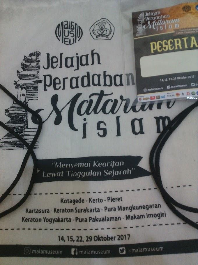 Menyusuri Jejak Peradaban Mataram Islam