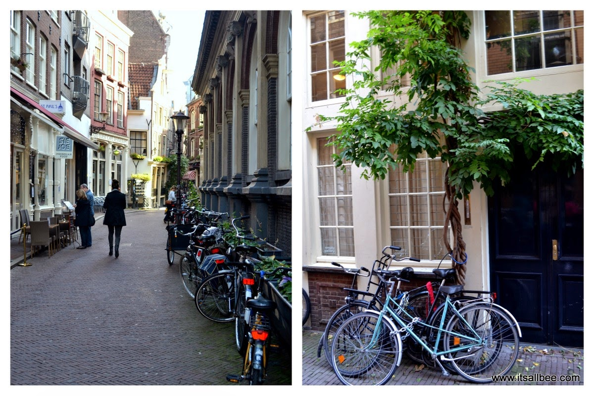 Amsterdam Canals and bikes - Dam Square