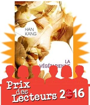 jury prix des lecteurs 2016 livre de poche végétarienne Kang avis critique chronique blog