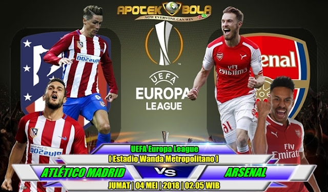 Prediksi Atletico Madrid vs Arsenal 04 Mei 2018