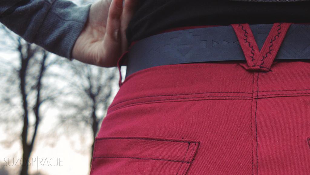 women's cargo pants, bojówki- szycie