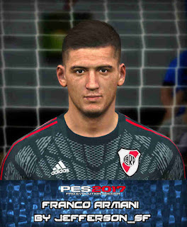 PES 2017 Faces Franco Armani by FaceEditor Jefferson_SF