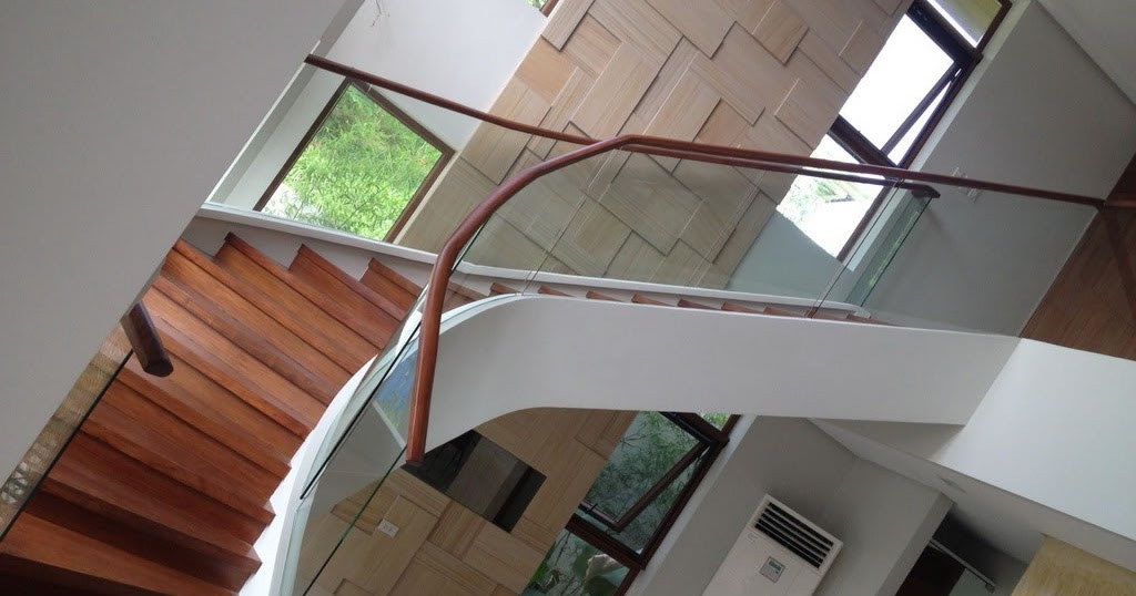 Glass Railings Philippines: Glass Railing Staircase