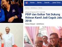 """NASIB Ridwan Kamil Bagai """"Lebai Malang"""": DISANA Tak Dapat, DISINI Ditinggal"""