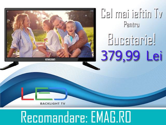 Cel mai ieftin televizor led pentru bucatarie: Recomandare pentru cel mai ieftin televizor led pentru bucatarie,pret si review