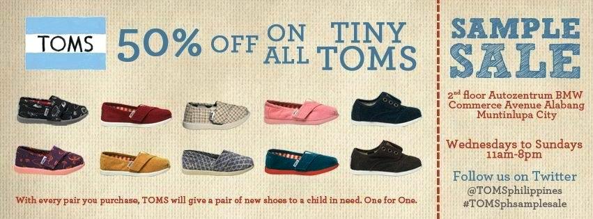 4d38f0ed1f5 Manila Shopper  TOMS Kids Shoes Sample SALE June 2012