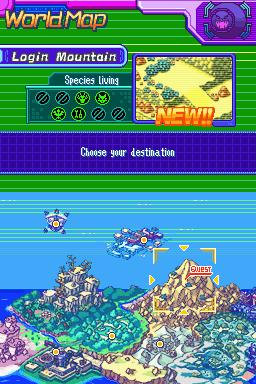 My Little Adventure: Digimon World Dusk: Beast Quest: Red