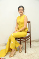 Taapsee Pannu looks mesmerizing in Yellow for her Telugu Movie Anando hma motion poster launch ~  Exclusive 043.JPG