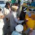 اہلسنت خدمت فاؤنڈیشن کے زیر اہتمام تحصیل چوک میں دودھ کی سبیل کا اہتمام
