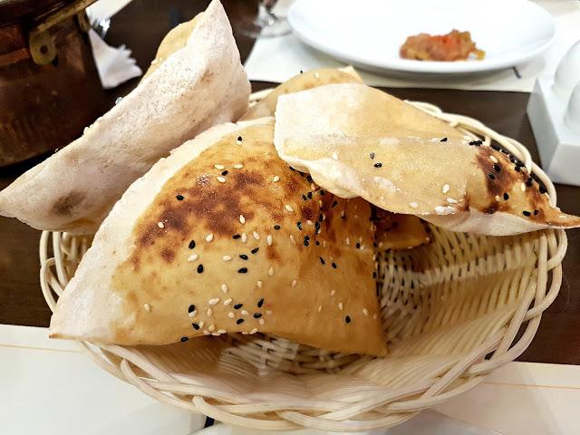 Turkish Bread - Kosebasi - Turkish Anatolian Grill at the Grand Avenues, Kuwait