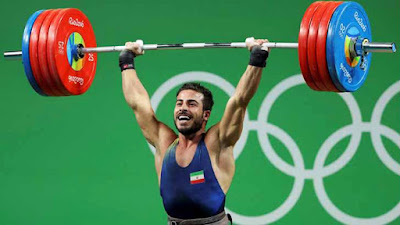 Kianoush Rostami, has put his gold medal up for auction to raise money for the victims of 12th November earthquake