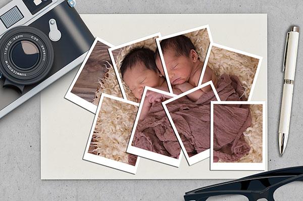 Kolase Foto Unik Polaroid di Photoshop
