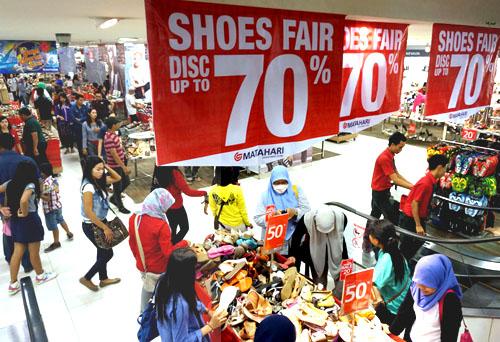 sepatu wanita murah jelang HUT Surabaya