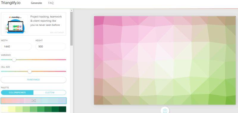 Trianglify: Crea fondos de pantalla poligonales y minimalistas - El Blog de HiiARA