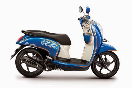 Honda Scoopy FI Sporty Urban Blue
