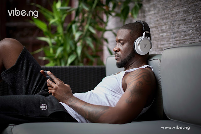 """""""People must respect and expect change"""" Peter Okoye of P-square says as he covers Vibe.ng Magazine"""