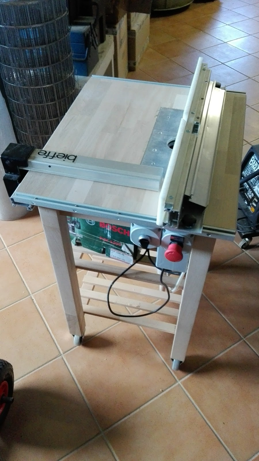 Boxedcnc router table with power lift built around ikea bekvm and this is my quite completed router table built around ikea kitchen cart bekvm and a precise drafting machine cannibalized router is a bosch pof 1200 greentooth