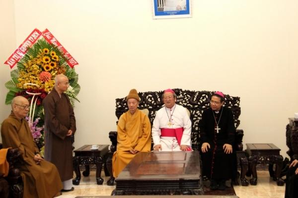 Thành hội Phật giáo chúc mừng Giáng sinh tới tổng giáo phận Sài gòn - Ảnh minh hoạ 5