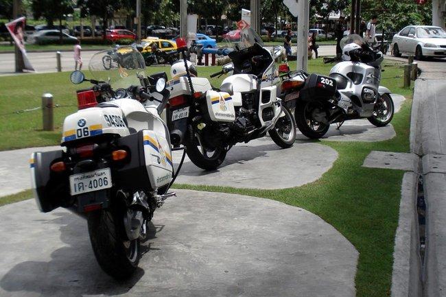 Мото БМВ в полиции Таиланда