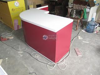 Meja Kasir Untuk Koperasi Sekolah - Custom Furniture Semarang