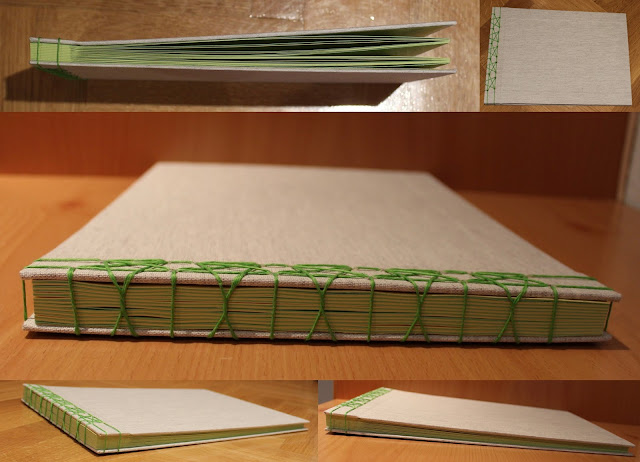 Japanese binding album