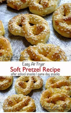 Air Fryer Soft Pretzel Recipe Cooking With Kids