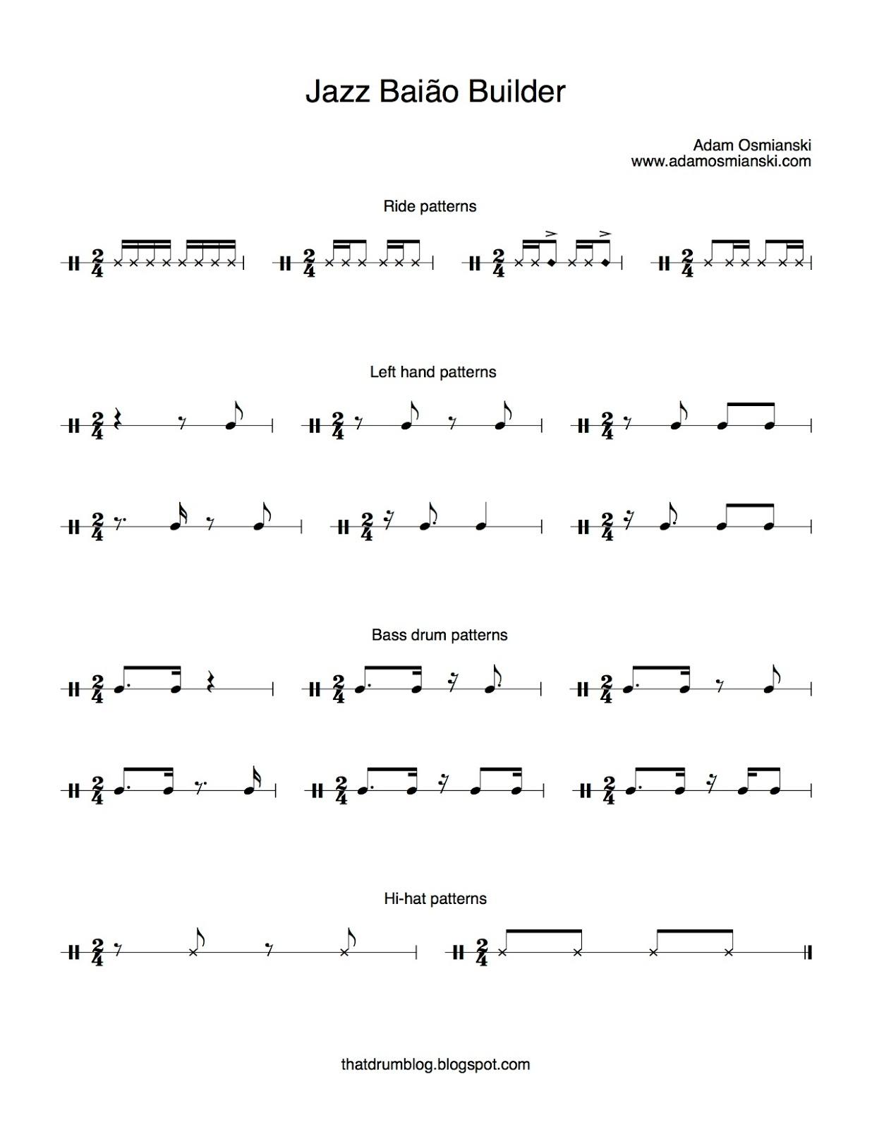 That Drum Blog: Baião