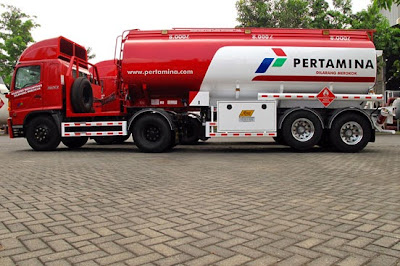 truk hino tangki bbm 24000 liter
