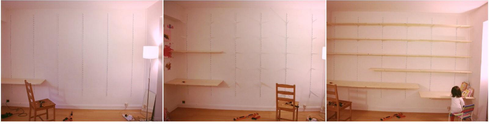fabriquer sa bibliotheque sur mesure soi meme diy. Black Bedroom Furniture Sets. Home Design Ideas
