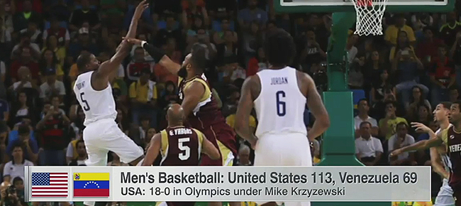 USA vs. Venezuela - Full Highlights (VIDEO) Rio Olympics 2016 - Basketball