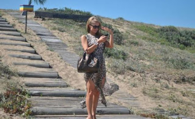 Paris Hilton di Jose Ignacio Beach