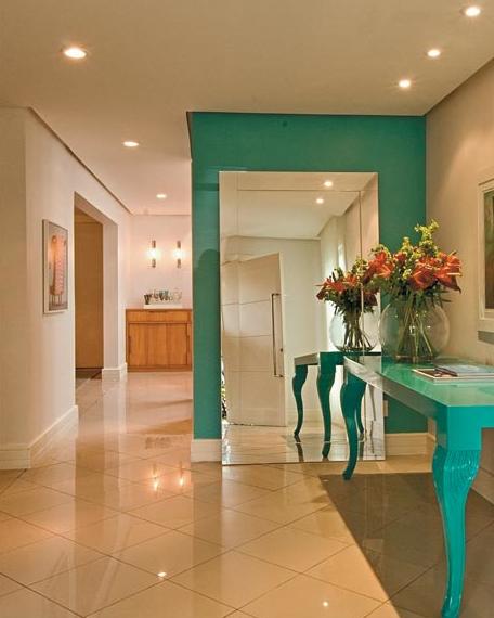 Aparador Sala De Jantar ~ Construindo Minha Casa Clean 50 Hall de Entrada de Casas Modernas! Veja Dicas de como Decorar!
