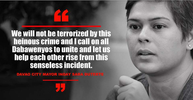 Sara Duterte calls for Dabawenyos' unity: We will not be terrorized