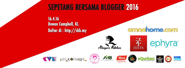Sepetang Bersama Blogger 2016