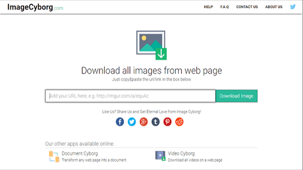 Download all images from any Web page with just one click through this wonderful site