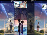 BBM MOD ANIME Kimi no Nawa YOUR NAME v3.0.1.25 Full Features Terbaru Clone / Unclone