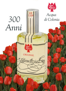 The company's Eau di Cologne - Acqua di Colonia - as packaged today