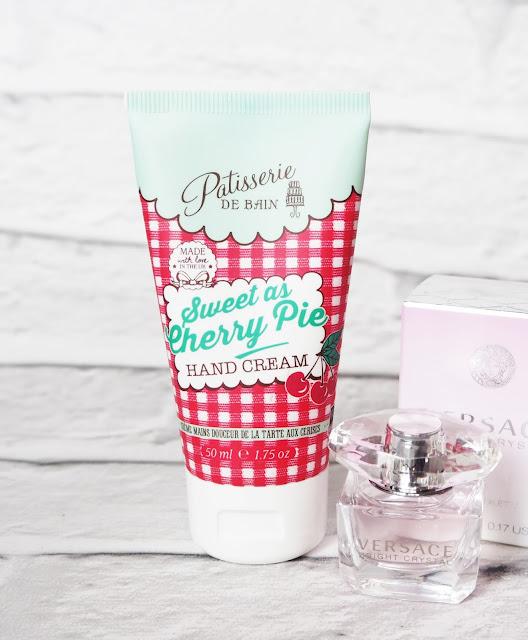 Patisserie De Bain Cherry Hand Cream, cherry cream