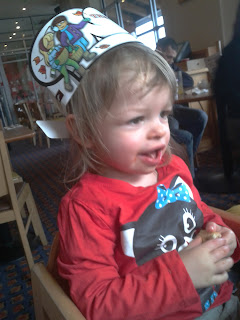 second birthday, Pizza Hut, Pizza
