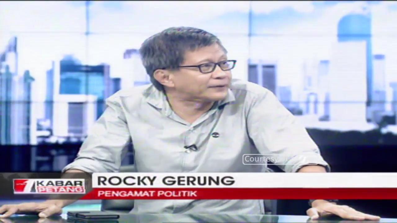 #2019GantiPresiden Disebut Inkonstitusional, Ini Bantahan Telak Rocky Gerung