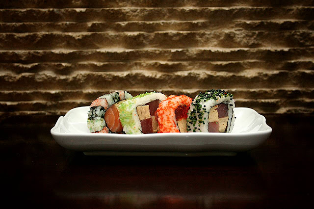 Heat Signature Maki and Cube Rolls