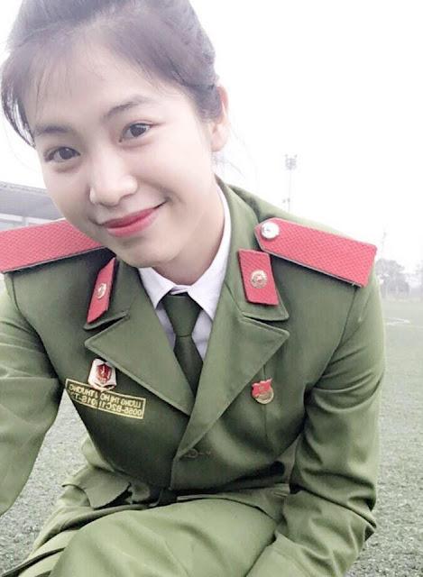 nu canh sat kep co 3 con do 3 - Tổng Hợp các HOT Girl Nữ Cảnh Sát đốn tim FAN nhất Việt Nam