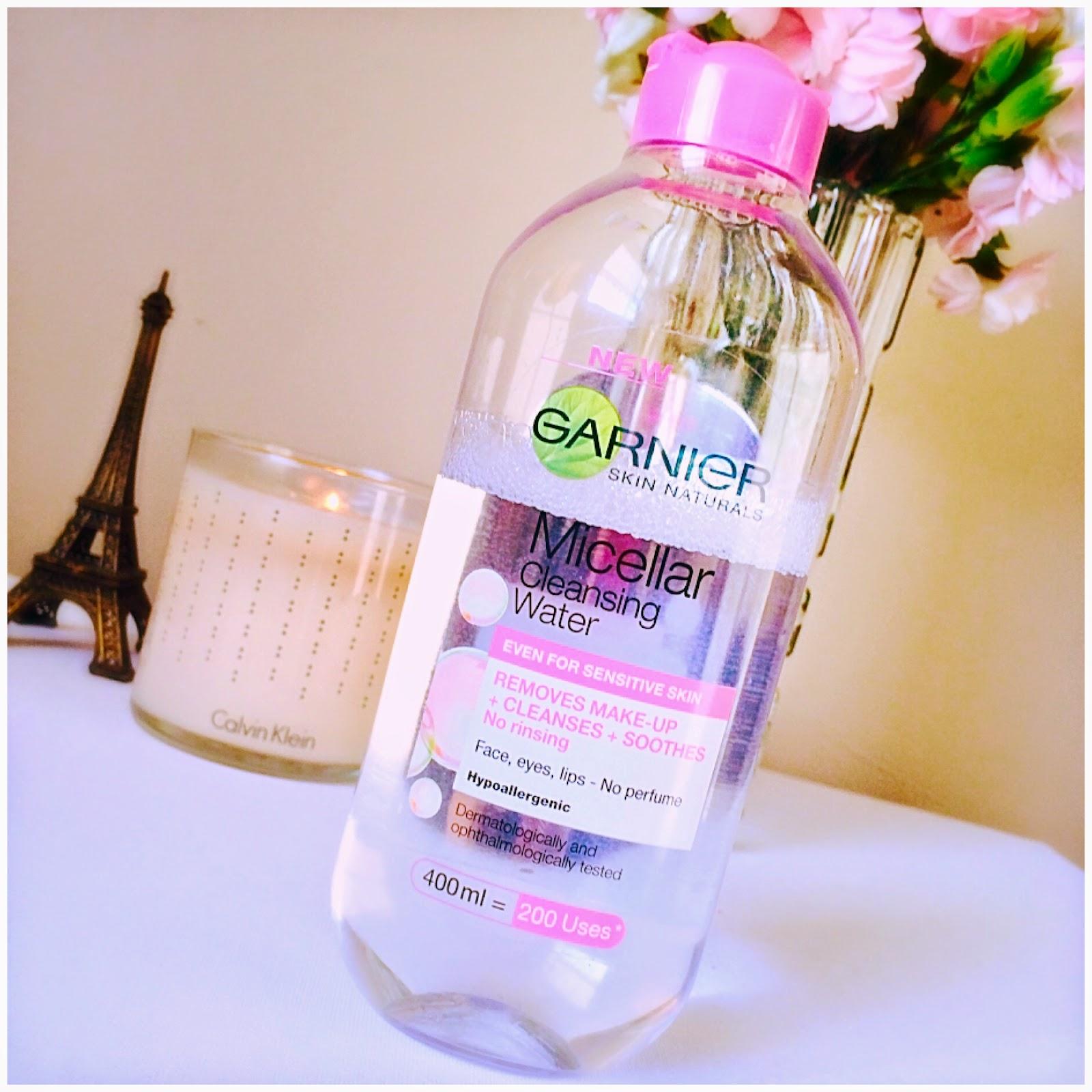 Garnier Micellar Cleansing Water - livingandbeauty.com